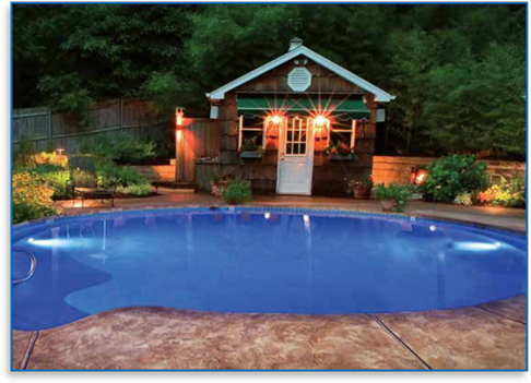 swimming pool lighting options. Radiant Pools Brings You A New And Improved LED Light Option! Swimming Pool Lighting Options